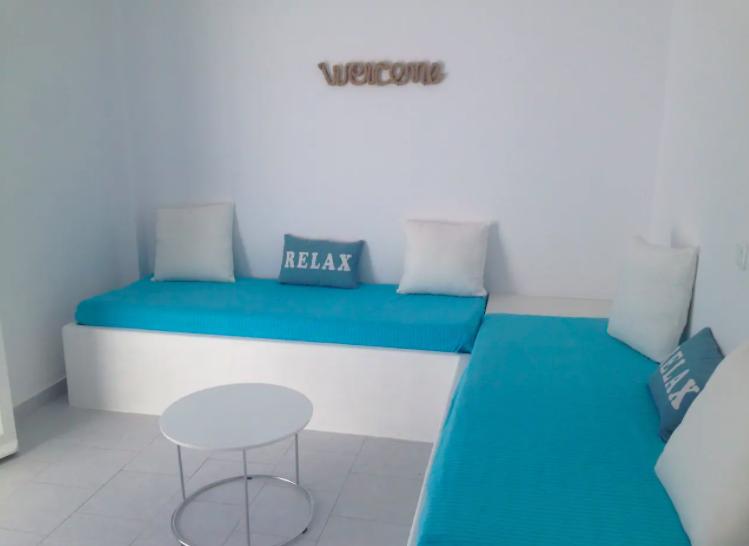 Beachfront Family Apartment 4-5